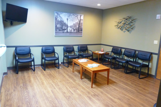 Dr. Doute's Waiting Room